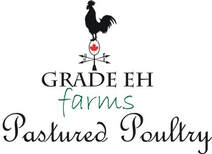 Grade Eh Farms pastured poultry title